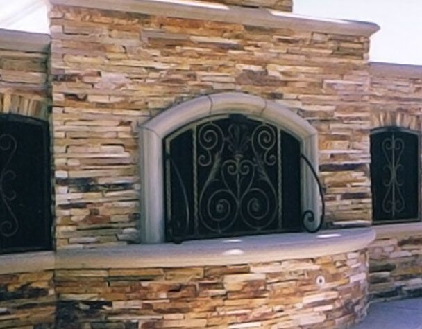custom wrought iron works gates handrails balcony ralings more. Black Bedroom Furniture Sets. Home Design Ideas