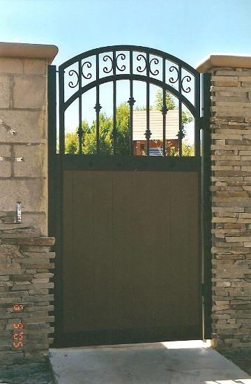 Custom Wood Gates Yorba Linda Orange County Ca